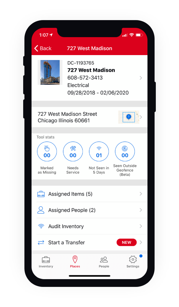 Audit your entire inventory on mobile