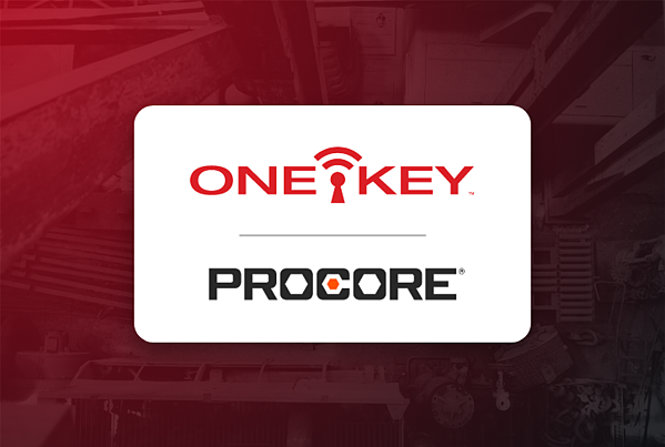One Key and Procore logos