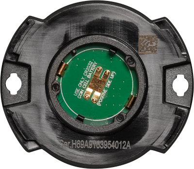 cross section of a TICK bluetooth tracker