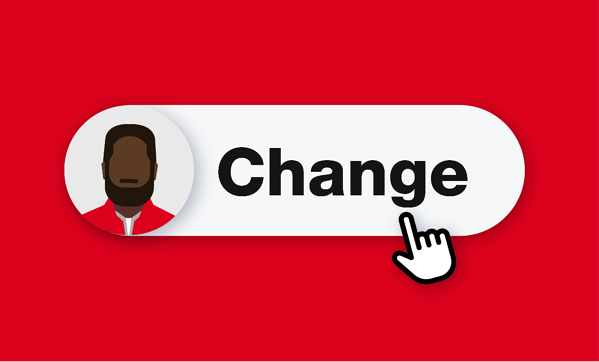illustration of change user role button