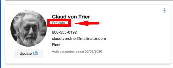 screenshot of user role in One-Key