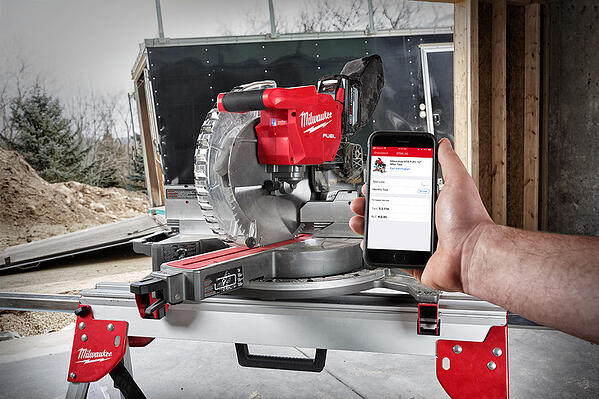 mobile phone user locking out Milwaukee Tool not in use